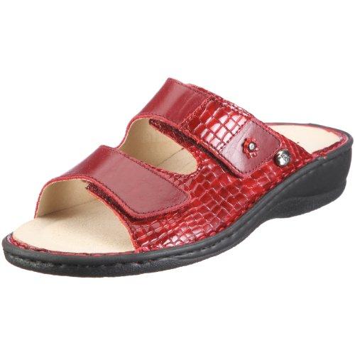 Hans Herrmann Collection Pisa 028412B, Chaussures femme Rouge-TR-B4-5
