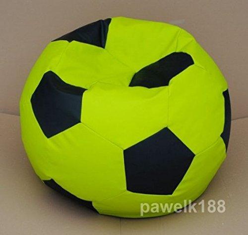 articolicasaonline sitzsack, puf, pouff, Bean Bag 100CM XXXL Football, Fußball