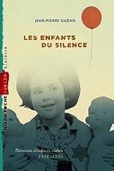 Les enfants du silence - NE