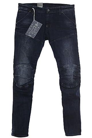G Star 5620 Elwood Super Slim Herren Jeans Hose Stretch Denim Dark Aged,