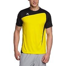 erima T-Shirt Club 1900 - Camiseta de fitness para hombre, color amarillo / negro, talla 2XL