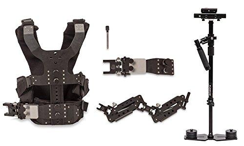 flowcam 4000proking Steadycam mit CAMGEAR Dual Arm Weste & Quick Release (für Kameras bis zu 10lbs)