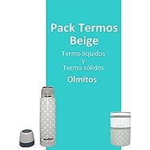 Pack Termo Liquidos + Termo Solidos color Beige de Olmitos