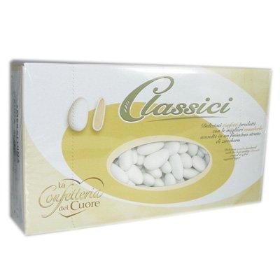 White Sugared Almonds 1KG Box
