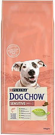 Purina Dog Chow Sensitive with Salmon Dry Dog Food bag