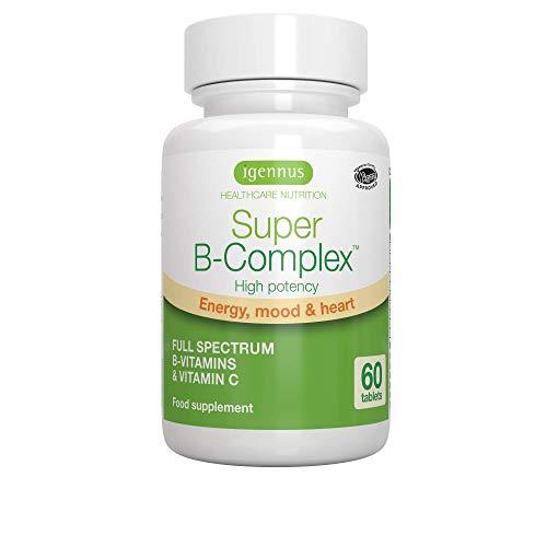 Super B-Complex contiene una mezcla sinérgica de 8 vitaminas B altamente biodisponibles con vitamina C para proporcionar un apoyo integral de energía. El folato y las vitaminas B6 y B12 en Super B-Complex están en sus formas más activas y en dosis pr...