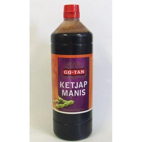 Ketjap Manis - Süsse Sojasauce Go Tan 1L