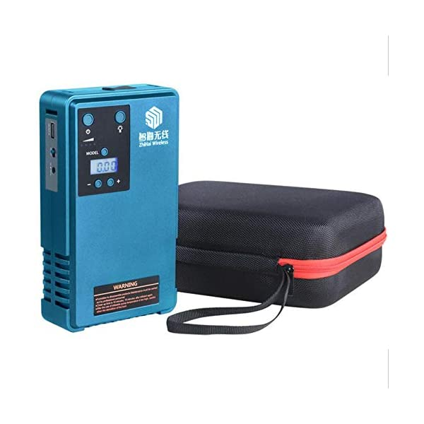El arrancador de salto fortalece el arrancador de salto y el compresor de aire. Pantalla LCD de presión de los neumáticos, con una capacidad de 10200MA, la corriente de salida máxima es