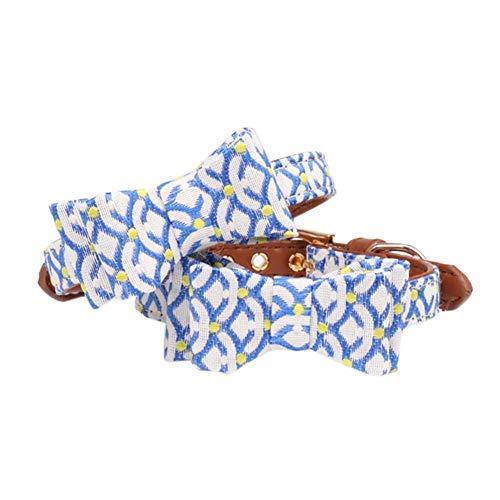 2 Stück Exquisit, verstellbar, formell, für Hunde und Katzen, Schleife, Krawatte, Kostüm, Halskette, Zubehör für Partys zur Hochzeit (Katze Bogen Krawatte Kostüm)