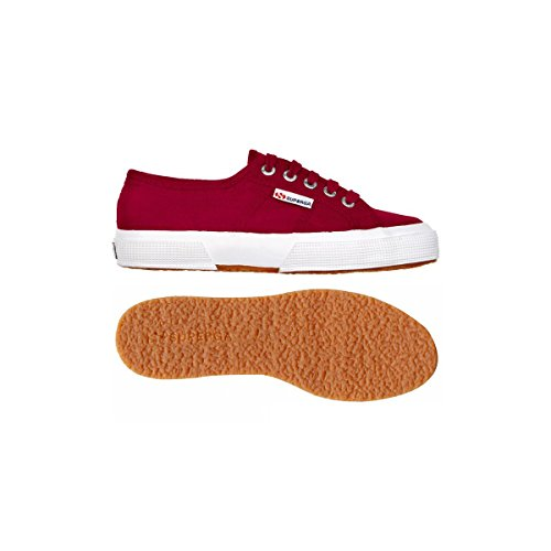 Superga 2750-LINU S001W30, Baskets mode mixte adulte RED DK SCARLET