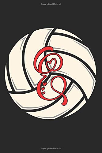 E: Volleyball Journal Monogram Initial E Personalized Volleyball Gift for Players Coach Students Teachers (Volleyball Lovers) por Happy Healthy Press
