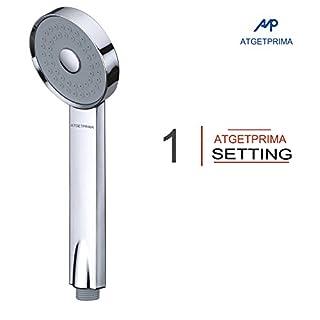 ATGETPRIMA Pet Shower Sprayer Handheld Shower Head High Pressure Single Function Luxury Hand Showerhead Chrome(only shower head)