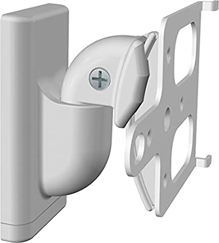 Sanus Haut-parleur sans fil Mounts–Single (Blanc)–Wswm1-w2