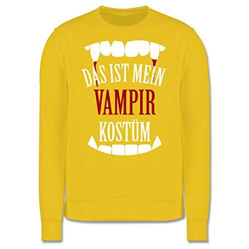 Halloween - Das ist mein Vampir Kostüm - Herren Premium Pullover Gelb