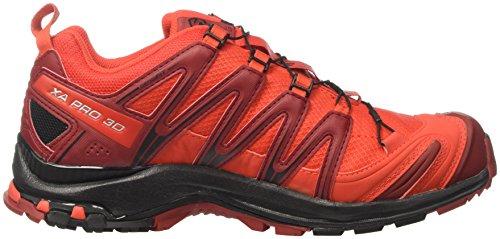 Salomon Xa Pro 3D Gtx, Scarpe da Trail Running Uomo Rosso (Fiery Red/Black/Red Dalhia)