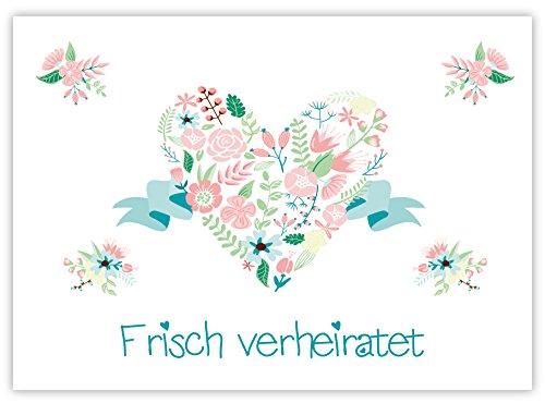 "Ballonflugkarten ""Frisch Verheiratet"""