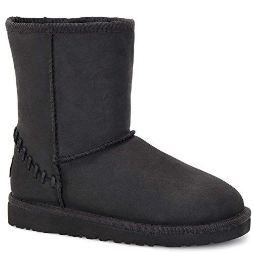 Ugg® Australia Classic Short Deco Fille Boots Noir Noir