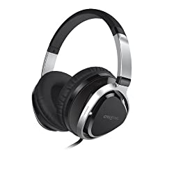 Creative Aurvana Live 2 Headset with 40mm Drivers and In-Line Mic (Black)
