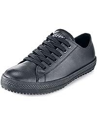 Shoes for Crews Old School Low Rider II–Femme de travail Chaussures NOIR