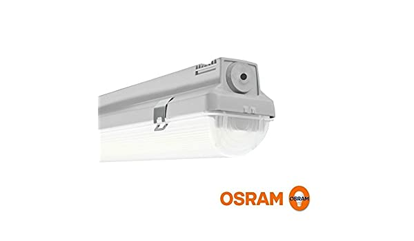Osram Plafoniere Stagne : Osram orca damp proof plafoniera da soffitto o sospensione led