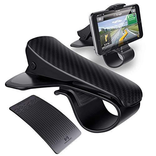 """Mate2GO Support Téléphone Voiture avec Tapis Antidérapant, Support Auto HUD sur Tableau de Bord avec Mat Collant pour Smartphone de 3.0""""-6.5"""" iPhoneX/8/8 Plus, Samsung, Huawei"""