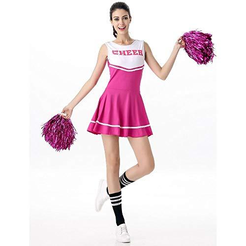 WWAVE Frauen Cheerleading Uniformen Spiel Rollenspiel Erwachsene Damen Sexy Baby Cheerleading...