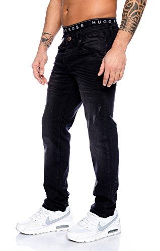 Rock Creek - Jeans - Jambe droite - Homme noir noir Noir