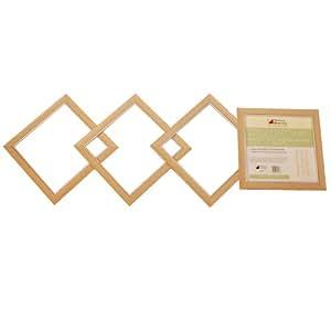 Richard Burbidge Lot de 4 Panneaux moulures en bois effet érable
