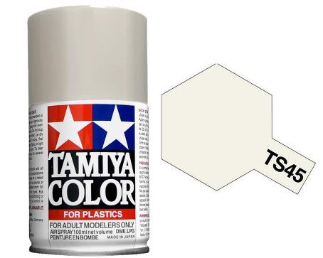 Tamiya 85045. Spray TS-45. Pintura esmalte color Blanco Perla