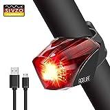 Acelife Fahrrad Rücklicht, Fahrradrücklicht USB Wiederaufladbar Fahrradlicht Fahrradlampe, StVZO Zugelassen Fahrradbeleuchtung LED Wasserdicht Ultra Hell Rücklicht, Hohe Qualität