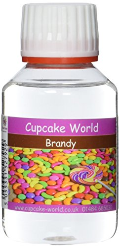 Cupcake World Intensiver Aromen  Weinbrand, 1er Pack (1 x 100 ml)