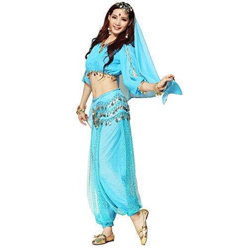 Beste Disney Kostüm - Best Dance Bauchtanz-Kostüm für Damen bestehend