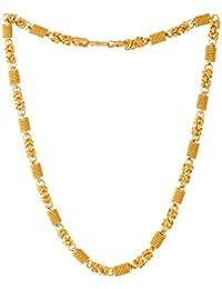 Voylla Chain Necklace for Men (Golden)(8907617240220)