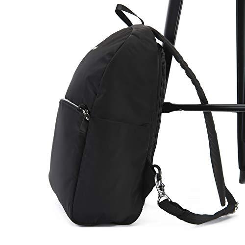 PacSafe Stylesafe Anti-Theft Backpack Rucksack, 37 cm, 12 liters, Blau (Navy Blue 606)