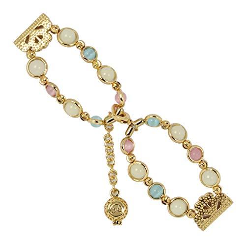 TianranRT Réglable Bracelet Fait à la main Nuit Lumineux...