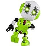 ALLCELE Toy Robots for Boys or Girls,Childrens Toys Mini Talking Robot Toys Bright