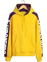 Amazon.es  jersey hombre - Amarillo   Sudaderas con capucha ... 8db47e4247b