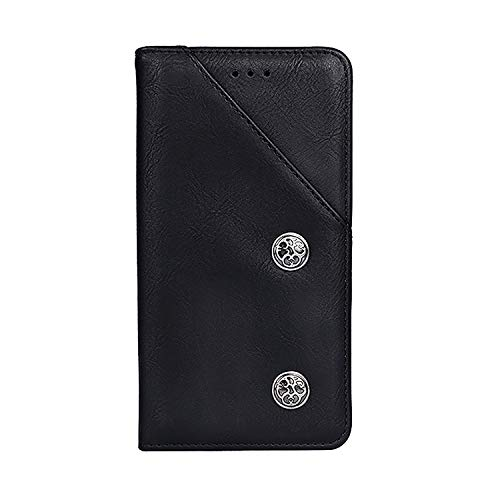 CiCiCat UMIDIGI One Max Hülle Handyhüllen, Flip Back Cover Case Schutz Hülle Tasche Schutzhülle Für UMIDIGI One Max Smartphone. (6.3'', Schwarz)