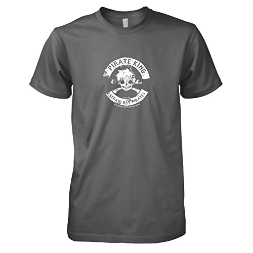 TEXLAB - Pirate King - Herren T-Shirt Grau