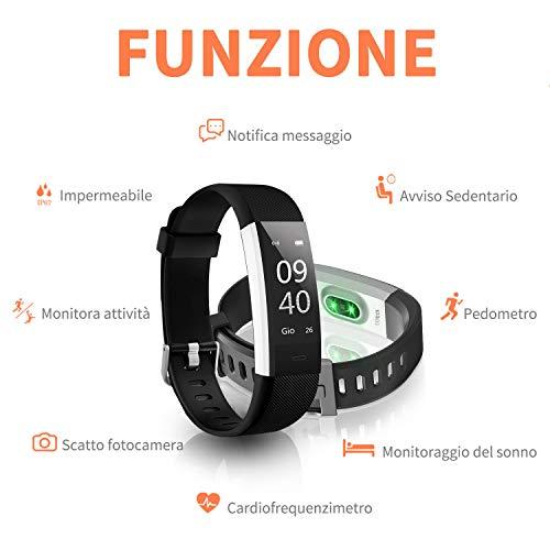 Zoom IMG-1 fitness tracker aneken smartwatch activity