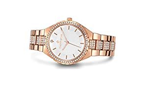 Timothy Stone - Gala - Women's Watch - Rose Gold, White