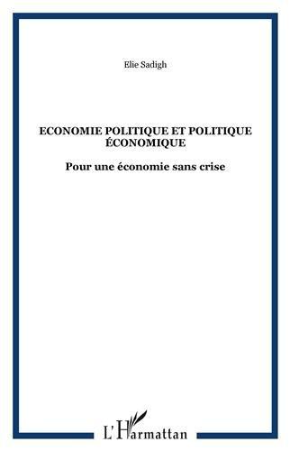 Economie politique et politique économi...