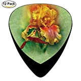 Fire Goddess Celluloid Guitar Picks 12 Pack For Electric Acoustic Guitar