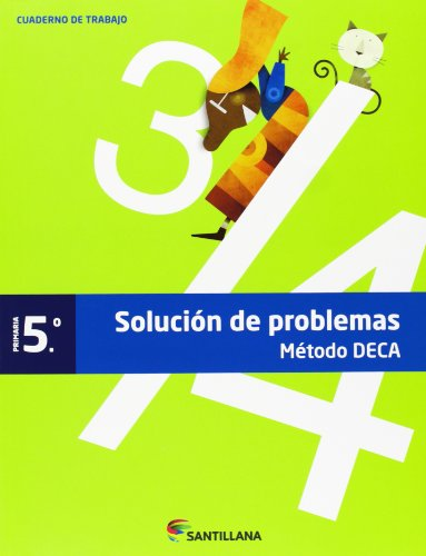 CUADERNO PROBLEMAS METODO DECA 5 PRIMARIA - 9788468009797 por Aa.Vv.