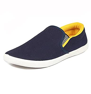 Jabra Men's Casual Loafer's Shoes (pilot-5- yellow/06)