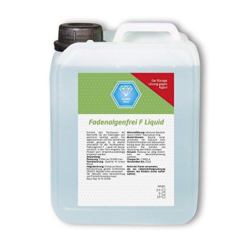 Fadenalgenfrei F Liquid 20 L Fadenalgenvernichter Fadenalgen Algen Koi Teich