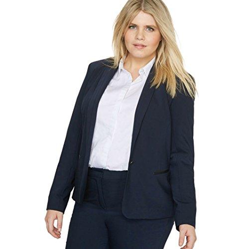 Castaluna Donna Giacca Da Tailleur In Polilana Taglia 46 Blu