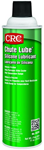 CRC 03204 Chute Lube Silicone Lubricant Spray, 20oz Aerosol ( Net fill : 11oz. ) by CRC (Spray Lube)