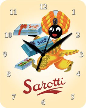 sarotti-orange-reloj-metal-plano-nuevo-20x26cm-vu586-1