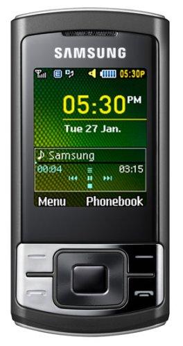 Samsung C3050 Handy (VGA-Kamera, MP3-Player, WAP, Quad Band) Silver Quad-quad-band-mp3-player
